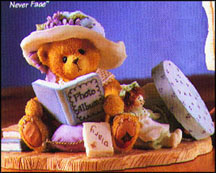 Lauren - Cherished Memories Never Fade, Cherished Teddies Figurine #308684