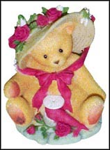 Janet - You're Sweet As A Rose, Cherished Teddies Figurine #336521 MAIN