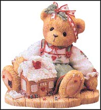 Sharon - Sweetness Pours From My Heart, Cherished Teddies Figurine #352594