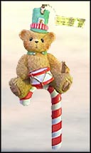 Bear With Drum Candy Cane, Cherished Teddies Ornament #4004616