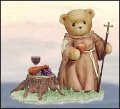 Friar Tuck - Sher-Wood Always Be There For You, Cherished Teddies Figurine #4005153 MAIN