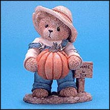 Ed - There's A Patch In My Heart For You, Cherished Teddies Figurine #466220