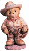 Roy - I'm Your Country Cowboy, Cherished Teddies Figurine #466298 MAIN
