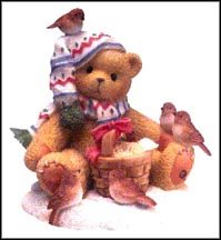 Paul - Good Friends Warm The Heart With Many Blessings, Cherished Teddies Figurine #466328