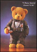 A Beary Special Groom To Be, Cherished Teddies Figurine #476315 MAIN