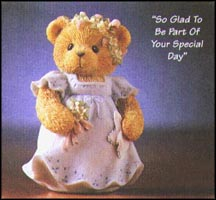 So Glad To Be Part Of Your Special Day, Cherished Teddies Figurine #476323