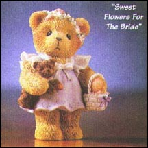 Sweet Flowers For The Bride, Cherished Teddies Figurine #476374