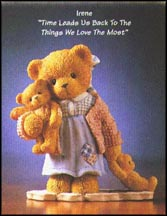 Irene - Time Leads Us Back To The Things We Love The Most, Cherished Teddies Figurine #476404