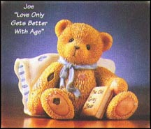 Joe - Love Only Gets Better With Age, Cherished Teddies Figurine #476412