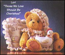 Lori - Those We Love Should Be Cherished, Cherished Teddies Figurine #476439