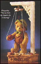 Pinocchio - You've Got My Heart On A String, Cherished Teddies Figurine #476463