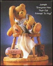 Joseph - Everyone Has Their Old Friends' To Hug, Cherished Teddies Figurine #476471