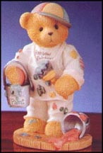Anthony - Friendship Is A Work Of Art, Cherished Teddies Figurine #476528