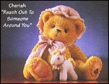 Cherish - Reach Out To Someone Around You, Cherished Teddies Figurine #476633