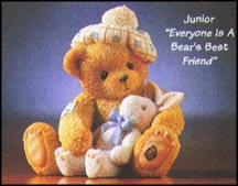 Junior - Everyone Is A Bear's Best Friend, Cherished Teddies Figurine #476641