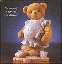 Anxiously Awaiting The Arrival, Cherished Teddies Figurine #476978