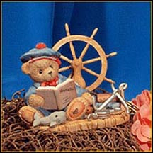 Glenn - By Land Or By Sea, Let's Go - Just You And Me, Cherished Teddies Figurine #477893