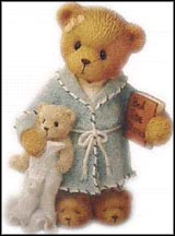 Jude - Love Is The Beary Best Bedtime Story, Cherished Teddies Figurine #506818