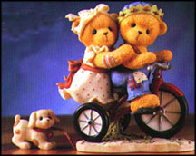 Sally And Skip - We Make A Perfect Team, Cherished Teddies Figurine #510955