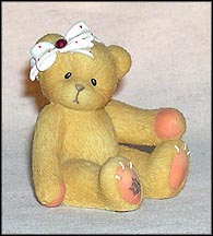 January, Cherished Teddies Figurine #516635 MAIN