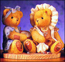 June And Jean - I've Always Wanted To Be Just Like You, Cherished Teddies Figurine #534153