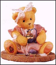 Ava - You Make Me Feel Beautiful Inside, Cherished Teddies Figurine #546526
