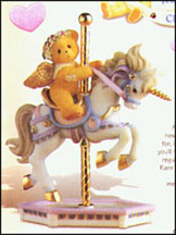 Crystal - Hang On! We're In For A Wonderful Ride, Cherished Teddies Figurine #589942