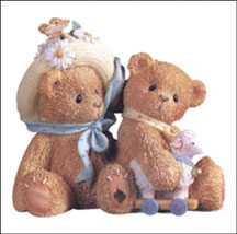 Daisy And Chelsea - Old Friends Always Find Their Way Back, Cherished Teddies Figurine #597392