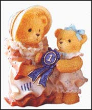 Simone And Jodi - I've Always Believed In You, Cherished Teddies Figurine #601551