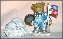 Neil -  One Small Step For Love, One Giant Leap For Friendship, Cherished Teddies Figurine #601659