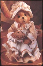 Patience - Happiness Is Homemade, Cherished Teddies Figurine #617105