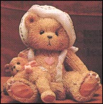 Phoebe - A Little Friendship Is A Big Blessing, Cherished Teddies Figurine #617113