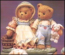 Jack And Jill - Our Friendship Will Never Tumble, Cherished Teddies Figurine #624772 MAIN