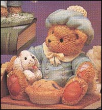 Little Jack Horner - I'm Plum Happy You're My Friend, Cherished Teddies Figurine #624780