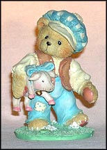 Tom, Tom The Piper's Son - Wherever You Go, I'll Follow, Cherished Teddies Figurine #624810
