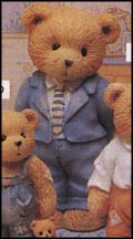 Father - A Father Is The Bearer Of Strength, Cherished Teddies Figurine #624888