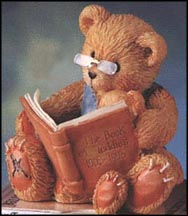 Teddy And Roosevelt - The Book Of Teddies - 1903-1993, Cherished Teddies Figurine #624918 MAIN