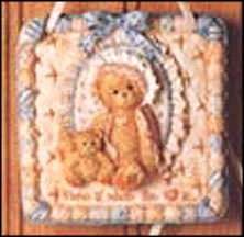 Wall Hanging - Home Is Where The Heart Is, Cherished Teddies Plaque #627372D
