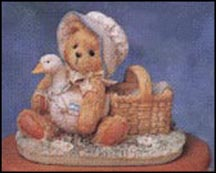 Bear With Goose - A Friend Always Knows When You Need A Hug, Cherished Teddies Musical #627445