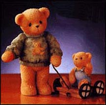 Russell And Ross - Thanks For Teaching Me About The Real World, Cherished Teddies Figurine #661783