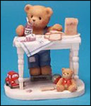 Fred - You're The Best Thing Since Sliced Bread, Cherished Teddies Figurine #661856