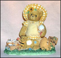 Lydia - You're The Bees Knees!, Cherished Teddies Figurine #661929