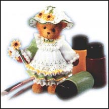Lacey - Cherish The Little Things In Life, Cherished Teddies Figurine #662453A