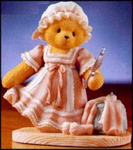 Collette - Outer Beauty Is Reflection Of Inner Beauty, Cherished Teddies Figurine #662518