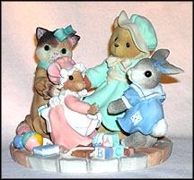 Circle Of Love, Cherished Teddies Figurine #666718
