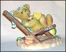 Ron - Enjoy The Simple Comforts Of Life, Cherished Teddies Figurine #706647 MAIN