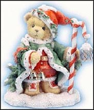 Wolfgang - ''The Spirit Of Christmas Is In Us All'', Cherished Teddies Figurine #706701