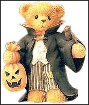 Derek - Count On A Frightful Halloween!, Cherished Teddies Figurine #706752