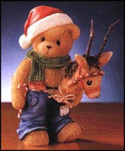 Ralph - Bring Joy To Those You Hold Deer, Cherished Teddies Figurine #706841 MAIN