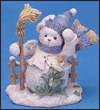 Buddy - And The North Wind Shall Blow, Cherished Teddies Figurine #706892 MAIN